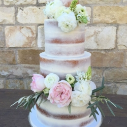 Semi Frosted Naked Cake