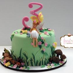 Fondant Fairy Cake