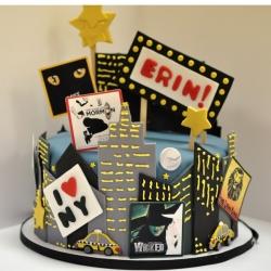 NYC Broadway Cake