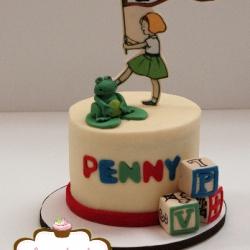Vintage Theme Smash Cake