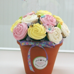 Spring Cupcake Bouquet