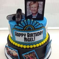 Nigel Lythgoe Birthday Cake