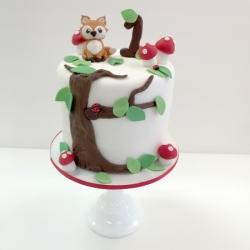 Smash cake with fondant details