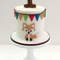 Buttercream smash cake