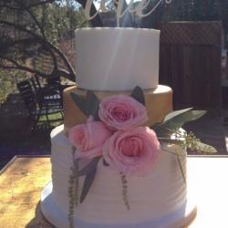 Saddlerock Ranch Wedding Cake